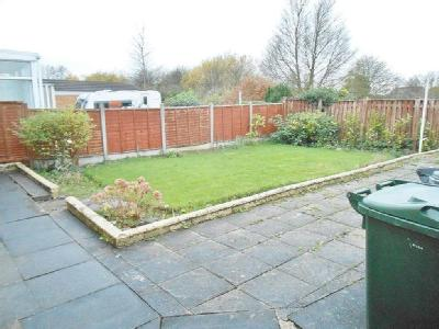 House to let, Furnival Road - Patio