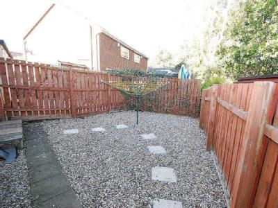 The Fell Way, West Denton - Garden