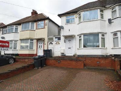 Derrydown Road, Perry Barr, B42
