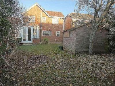 House to let, Hutchins Road - Garden