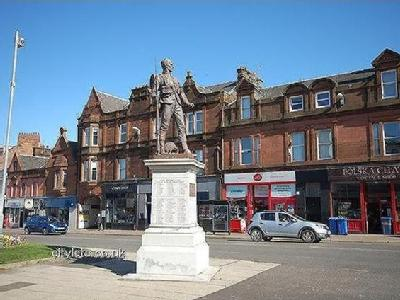 Burns Statue Square, Ayr, South Ayrshire, Ka7