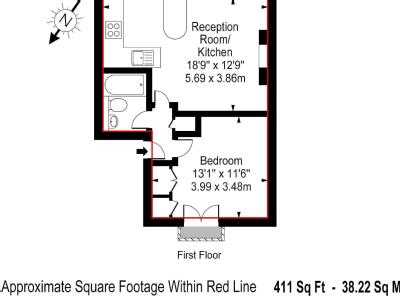 Flat for sale, Chetwynd Road