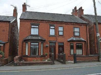 House for sale, Mold Road - Fireplace
