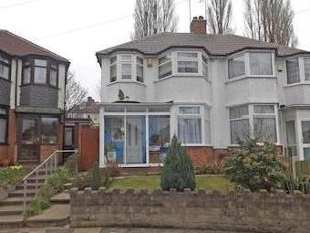 Winterton Road, Birmingham, West Midlands B44