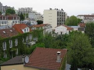 Courbevoie, Hauts-De-Seine - Balcon, Parking