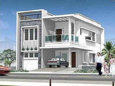 2BHK White Town, Pondicherry - Garden