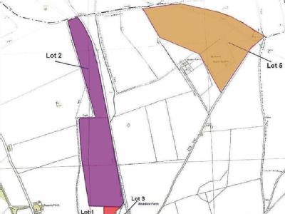 3 properties and 171 acres of land, Compton, Berkshire