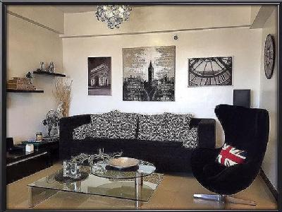 Quezon City - Flat, Modern, Furnished