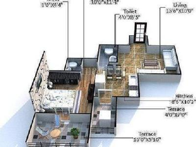 1 BHKFlat for sale, Ravet, Pune - Gym