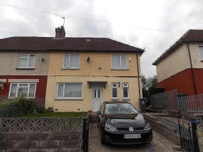 House to let, Ty Coch Road - Garden