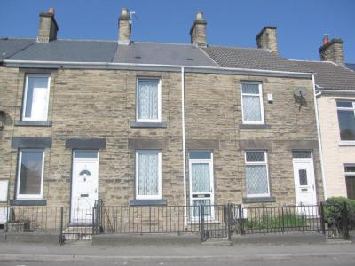 House to let, Barnsley Road - Garden