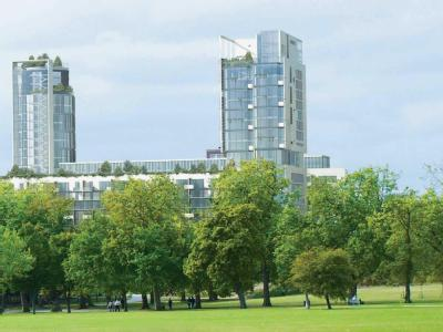 One City North, The Rectangular Tower, Finsbury Park, London N4