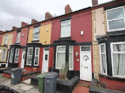 Crofton Road, Birkenhead - Terraced