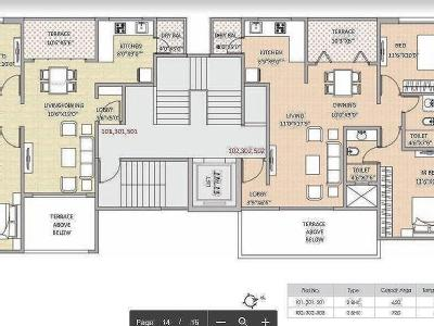 2 BHK Flat to rent, Royal Meadows