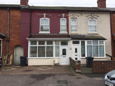 House to let, Floyer Road - Garden