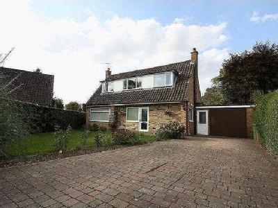 The Beeches, Pocklington- a detached property on a good size plot.