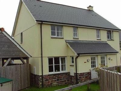 Three bedroomed semi-detached house.  Downstairs WC, Lounge, Kitchen/Diner, Bathroom, GCH, Parking, Garden.