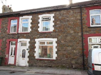 Commercial Street, Senghenydd, Caerphilly
