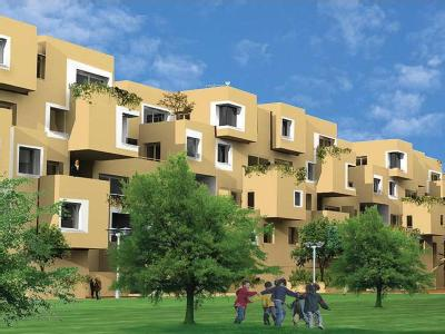 3 BHK Flat for sale, Courtyard - Flat