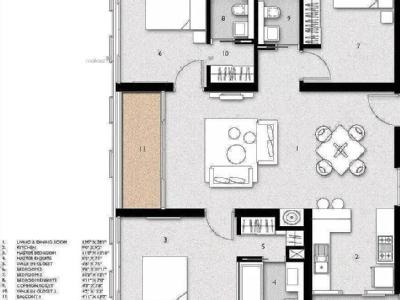 3 BHK Flat for sale, Space Station