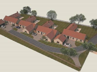 Orchard View Development, South Rauceby, Sleaford, Lincolnshire, NG34