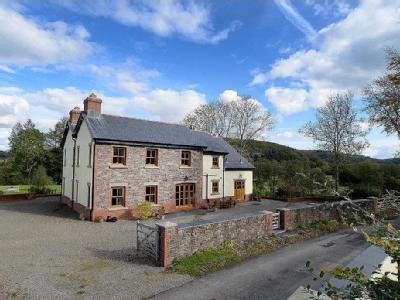 House for sale, Glantwrch Farm