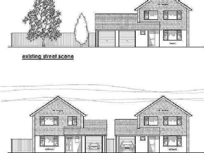 Building plot and 4 bedroom house in the Trendlewood area