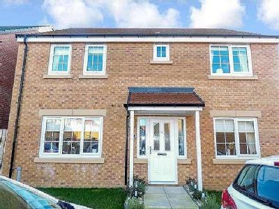 House for sale, Belfry Close - Garden