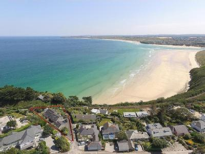Superbly positioned in large plot, Somerseaze, Carbis Bay, St. Ives