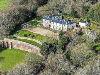 Some 30 acres of grounds, woodland & pasture