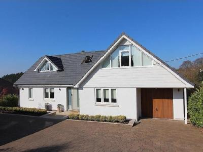 Superb individual detached home on the edge of Winscombe