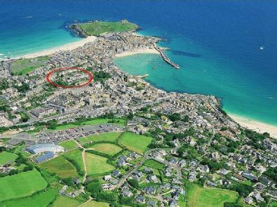 St Ives Town Centre, West Cornwall, TR26