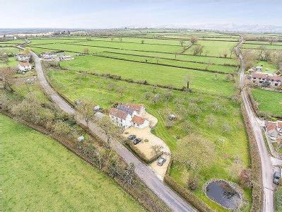 Very attractive period house with annexe and land near Wedmore