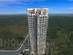 Harmony Signature Towers, Thane West, near Opposite Mahindra Car Gallery, Near Hyper City, Ghodbunder Road, Owale, Thane, Maharashtra