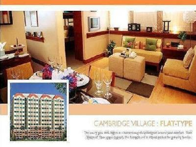 Flat to buy Pasig City - Terrace, Gym