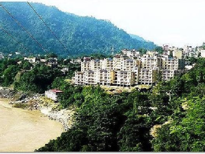 Tapovan Village Badrinath Highway Rishikesh Uttrakhand INDIA.