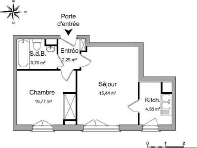 Appartement en location, Evry - Parking
