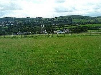Lot 2: Approximately 9 Acres of Land with Two Outbuildings and Yard, Groeswen, Caerphilly