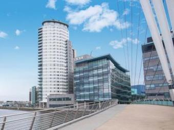 Blue, Media City Uk, Salford M50