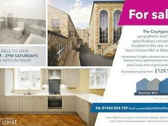 The Courtyard, Hollins Mill, Hollins Road, Walsden, West Yorkshire Ol14