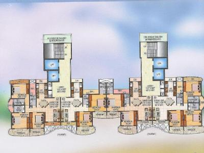 3 BHK Flat for sale, Sai Miracle