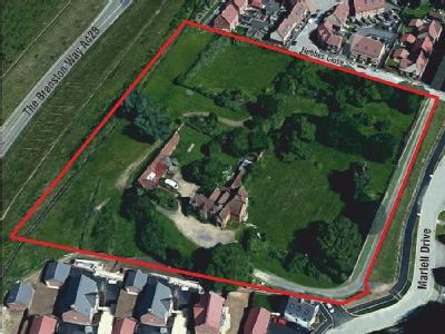 Development Site at The Bury, off Martell Drive Bedfordshire