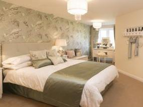 Typical Bedroom At Park View Road, Prestwich, Manchester M25