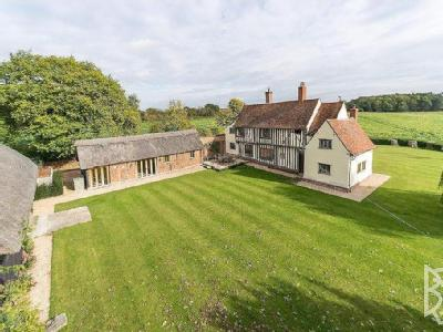 Stoke-By-Nayland, Wick Road, CO6