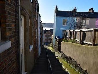 Spreight Lane Steps, Scarborough, North Yorkshire Yo11