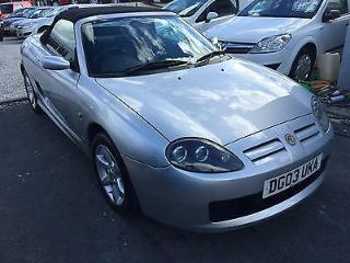 03/03 MG/ MGF TF 1.8 135 FULL DOCUMENTED SERVICE HISTORY VERY NICE CONV