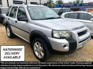 04/54 Land Rover Freelander 2.0Td4 auto HSE Nationwide Delivery new mot