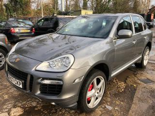 07 PORSCHE CAYENNE TURBO 4.8 1 OWNER, 89K MILES, FABULOUS HISTORY *EML IS ON!