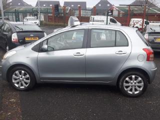 07 REG TOYOTA YARIS 1.3 TR 105K WARRANTED MILES HPI CLEAR TWO OWNERS FROM NEW