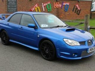 08/08 Subaru Impreza GB270 4 DOOR BLUE No 68/300 LOVELY HISTORY PLUS EXTRAS